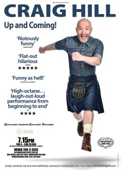 Craig Hill Edinburgh Fringe 2016 flyer