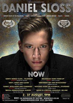 Daniel Sloss Edinburgh Fringe 2017 poster