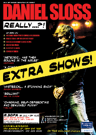 Daniel Sloss Edinburgh 2014 flyer extra shows