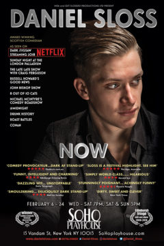 Daniel Sloss NOW NYC 2019