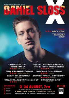 Daniel Sloss Edinburgh 2018 poster