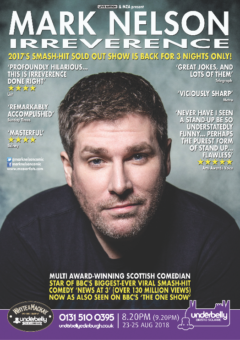 Mark Nelson Edinburgh 2018