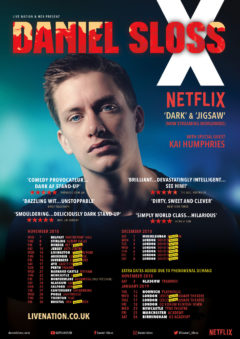 Daniel Sloss X UK tour