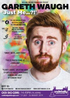 Gareth Waugh Just Me poster
