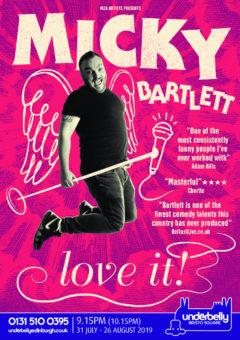 Micky Bartlett Edinburgh 2019